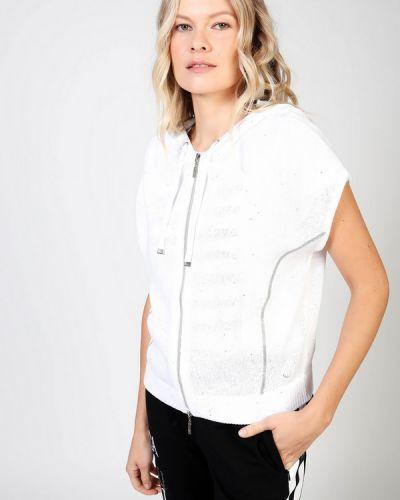 Хлопковый белый пиджак Monari