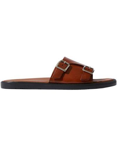Brązowe sandały Scarosso