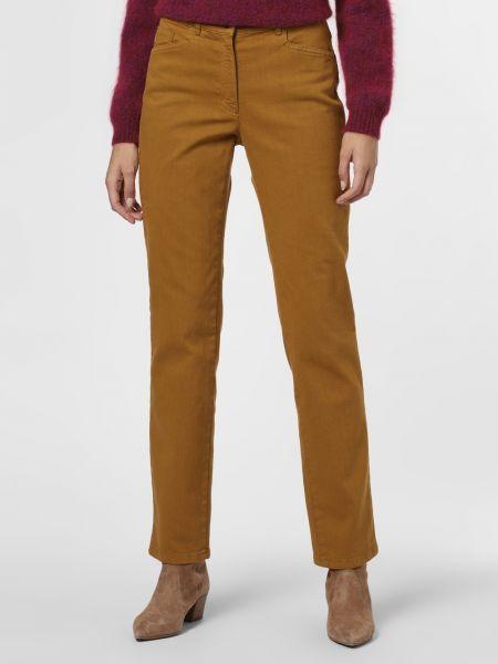 Żółte jeansy Zerres