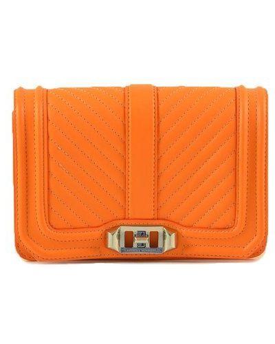 Pomarańczowa torebka Rebecca Minkoff