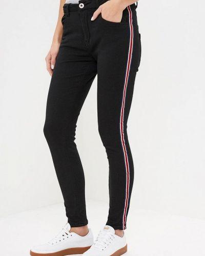 Черные брюки повседневные Regular