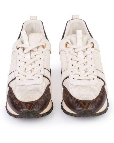 Białe sneakersy z siateczką Louis Vuitton Vintage