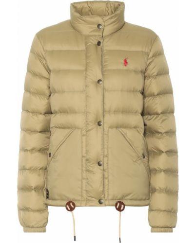 Стеганая куртка нейлоновая салатовый Polo Ralph Lauren