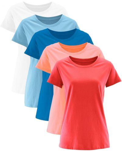 Футбольная коралловая футболка Bonprix
