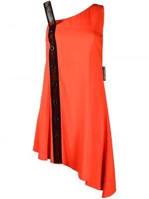 Платье без рукавов - красное Just Cavalli