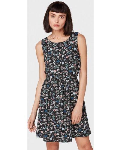 Джинсовое платье индийский прямое Tom Tailor Denim