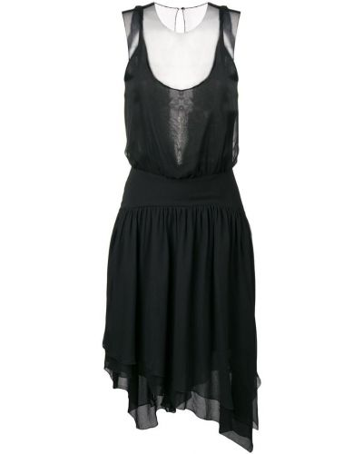 Вечернее платье с поясом со складками Karl Lagerfeld