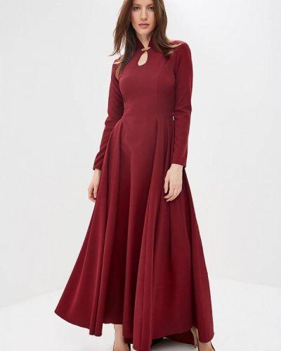 Вечернее платье бордовый красный Royal Elegance