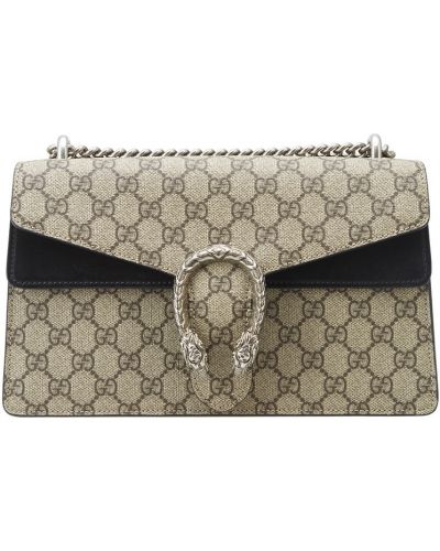 Кожаная сумка на цепочке маленькая Gucci