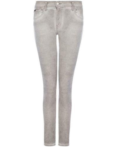 Укороченные джинсы с низкой посадкой скинни Polo Ralph Lauren