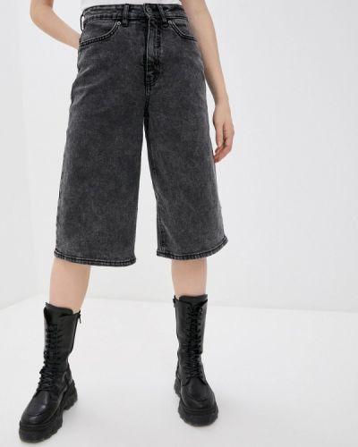 Джинсовые шорты - серые Ichi