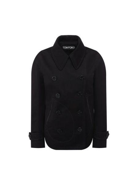 Куртка черная бушлат Tom Ford