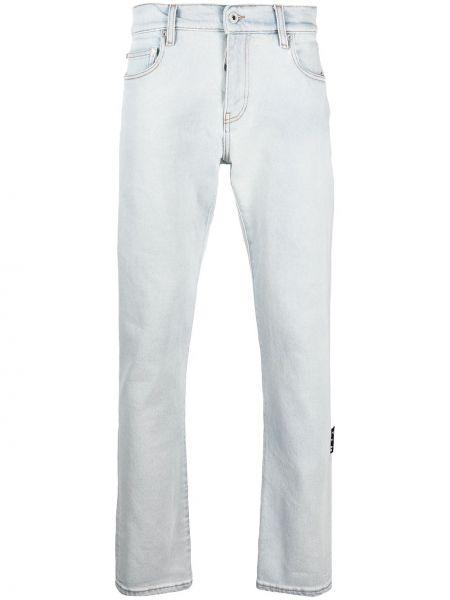 Зауженные черные джинсы-скинни с карманами Off-white