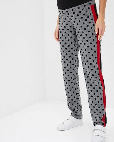 Серые брюки повседневные Mammysize