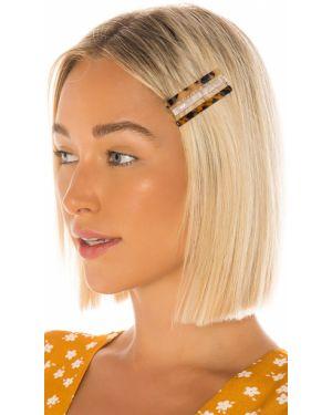 Złoty żółty kapelusz pozłacany Amber Sceats