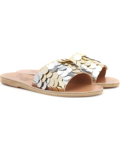Шлепанцы желтый Ancient Greek Sandals