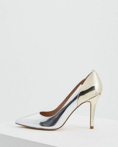 Туфли-лодочки серебряного цвета Liu Jo