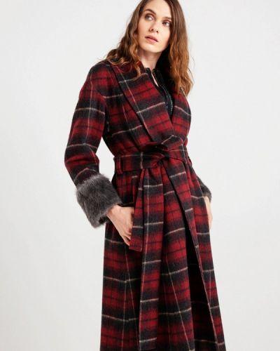 Пальто демисезонное бордовый Bgn