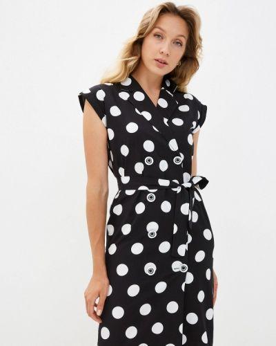 Платье - черное мадам т