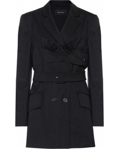 Пиджак черный шерстяной Simone Rocha