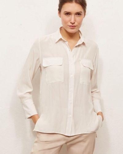 С рукавами белая блузка Gerard Darel