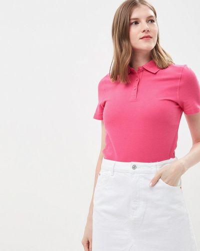 Розовое поло Marks & Spencer