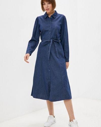 Джинсовое платье - синее Only