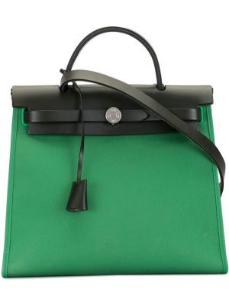 Сумка на плечо с ручками винтажная Hermès
