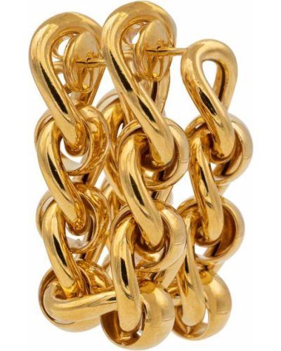 Серьги - золотые Bottega Veneta