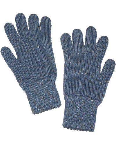 Перчатки с люрексом красный Lacywear