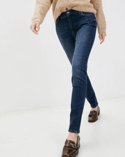 Синие джинсы-скинни узкого кроя Joop!