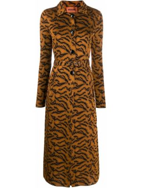 Пальто вязаное с запахом Missoni