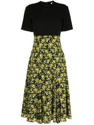 Шелковое платье миди - желтое Paul Smith
