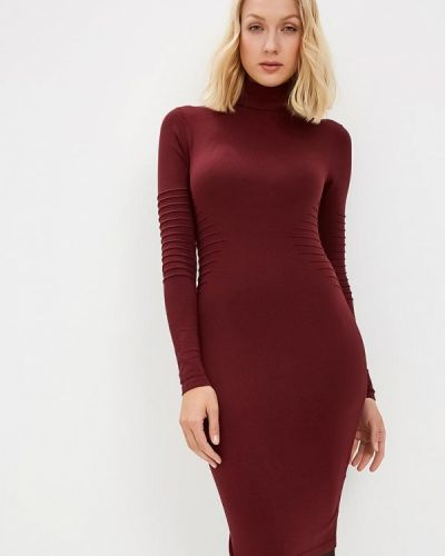 Вязаное платье осеннее трикотажное Y.a.s