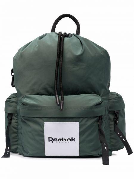 Зеленая сумка из полиэстера Reebok X Victoria Beckham