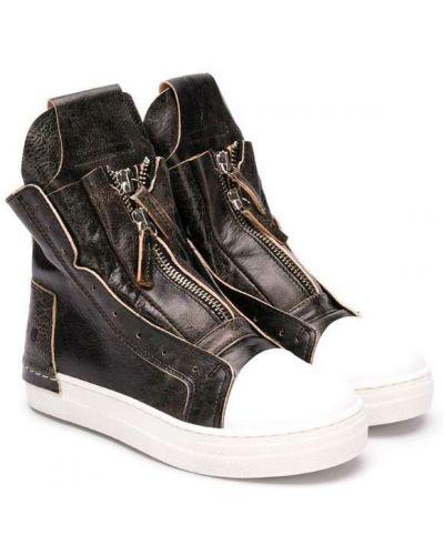 Ботинки на молнии коричневый Cinzia Araia Kids