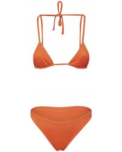 Оранжевые бикини эластичные Jacquemus