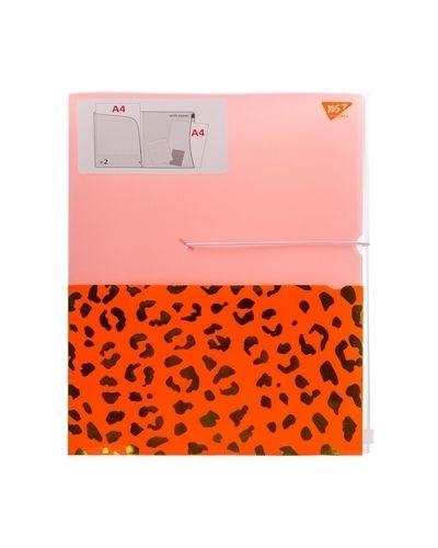 Оранжевая папка на резинке Yes