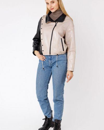 Куртка с воротником - черная Bertini