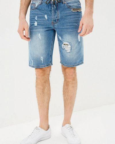 Синие джинсовые шорты Modis