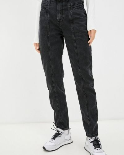 Серые зимние джинсы Ostin