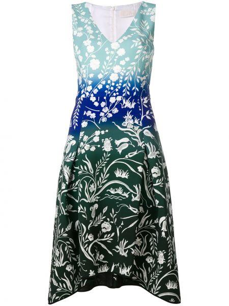 Платье с V-образным вырезом приталенное Peter Pilotto
