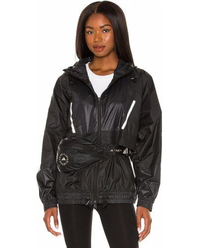 Czarna kurtka z kapturem Adidas By Stella Mccartney