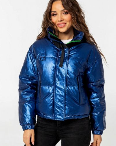 Утепленная куртка - синяя Whitefox