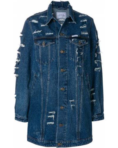 Джинсовая куртка хлопковая Forte Couture