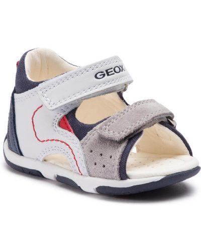 Białe sandały Geox