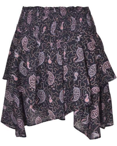Fioletowa spódnica Isabel Marant