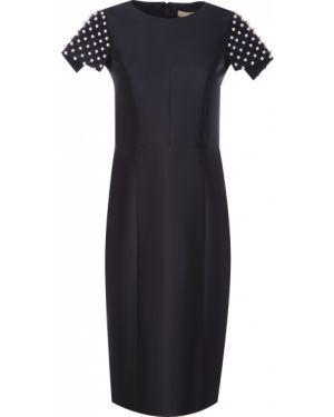 Платье мини миди с бисером Michael Kors