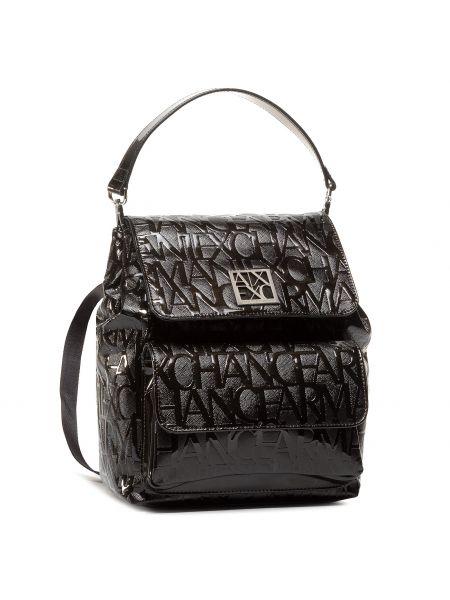 Plecak - czarny Armani Exchange