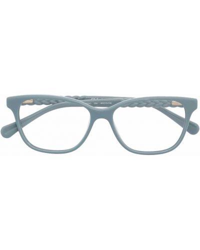 Niebieskie okulary Chloé Kids
